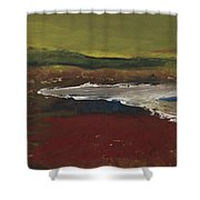 Stop And Go Landscape Shower Curtain