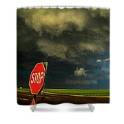 Stop And Take In This Moment Shower Curtain