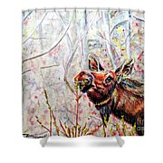 Stop To Smell The Weeds Shower Curtain