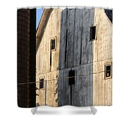 Storage Shower Curtain