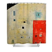 Storage Shed Shower Curtain