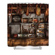 Store - Old Fashioned Super Store Shower Curtain