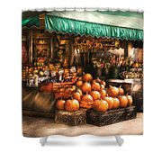 Store - Hoboken Nj - The Fruit Market Shower Curtain