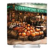 Store - Hoboken Nj - The Fruit Market Shower Curtain