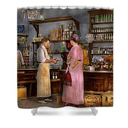 Store - In A General Store 1917 Shower Curtain