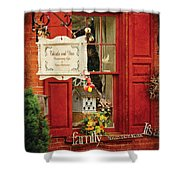 Store - Strausburg Pa - Thistle And Vine Shower Curtain