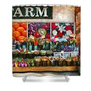 Store - Westfield Nj - The Flower Stand Shower Curtain