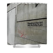 Storefront For Art And Architecture Shower Curtain