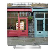 Storefronts For Let Shower Curtain