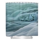 Storforsen - Sweden Shower Curtain