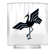 Stork Shower Curtain