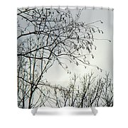 Storm Approaching Shower Curtain