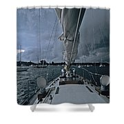 Storm At Put-in-bay Shower Curtain