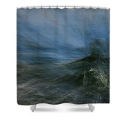 Storm At Sea Shower Curtain
