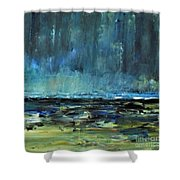 Storm At Sea II Shower Curtain