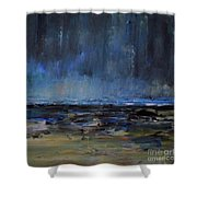 Storm At Sea IIi Shower Curtain