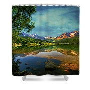 Storm At Trout Lake Shower Curtain