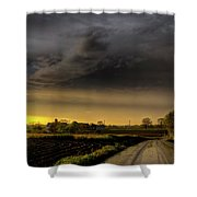 Storm Before Sunset Shower Curtain