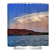 Storm Brew Shower Curtain