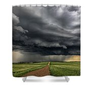 Storm Chaser  0352 Shower Curtain