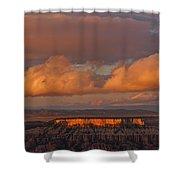 Storm Clearing Shower Curtain