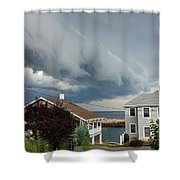 Storm Cloud Over Pigeon Cove Shower Curtain