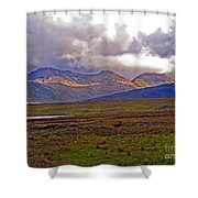 Storm Clouds Ahead In Connemara Shower Curtain