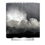 Storm Clouds Are Brewin' Shower Curtain