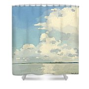 Storm Clouds Gathering Shower Curtain