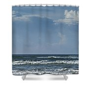 Storm Clouds On The Horizon Ocean Isle North Carolina Shower Curtain