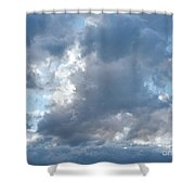 Storm Clouds Passing Shower Curtain