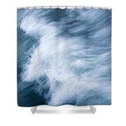 Storm Driven Shower Curtain
