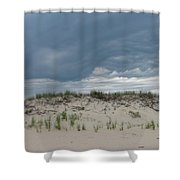Storm Dune Shower Curtain