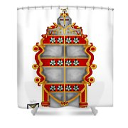 Storm Family Crest Shower Curtain