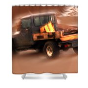 Still Truckin' Shower Curtain