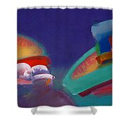 Storm Horizon Shower Curtain