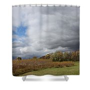 Storm Is Brewing Shower Curtain