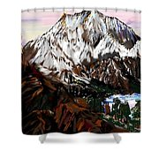 Storm King Mountain Shower Curtain