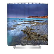 Storm Light Shower Curtain