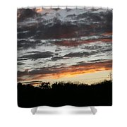 Storm Madness Shower Curtain