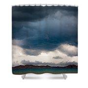 Storm On Karakul Lake Shower Curtain