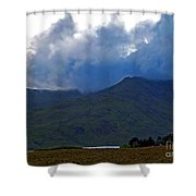 Storm On The Horizon In Connemara Shower Curtain