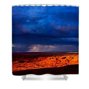 Storm On The Way Shower Curtain