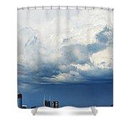 Storm Over Nashville Shower Curtain