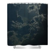 Storm Over Pittsburgh Shower Curtain