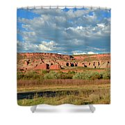 Storm Over Red Rocks Shower Curtain