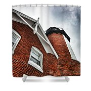 Storm Over The Light Shower Curtain