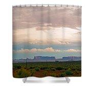 Storm Pass Shower Curtain
