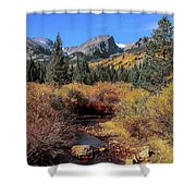 Storm Pass Trail Shower Curtain