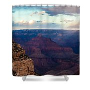 Storm Passes The Grand Canyon Shower Curtain